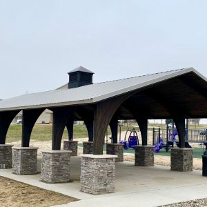 Challenge Course and Playground Complete with Park Shelter - Norwalk, IA gallery thumbnail