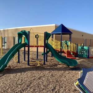 School Playground in Primary Colors - Clear Lake, IA gallery thumbnail