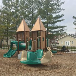 Very Natural Looking Playground with Tall Roofs - Monticello, IL gallery thumbnail