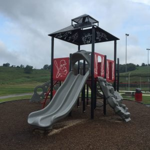 Custom Baseball Theme Playground - Bridgeport, WV gallery thumbnail