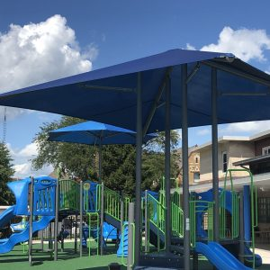 Child Development Lab Playground with Integrated Shade - Urbana, IL gallery thumbnail
