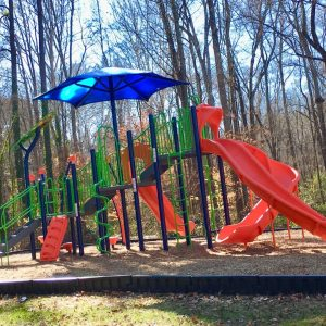 Play Area with Integrated Shade - Durham, NC gallery thumbnail